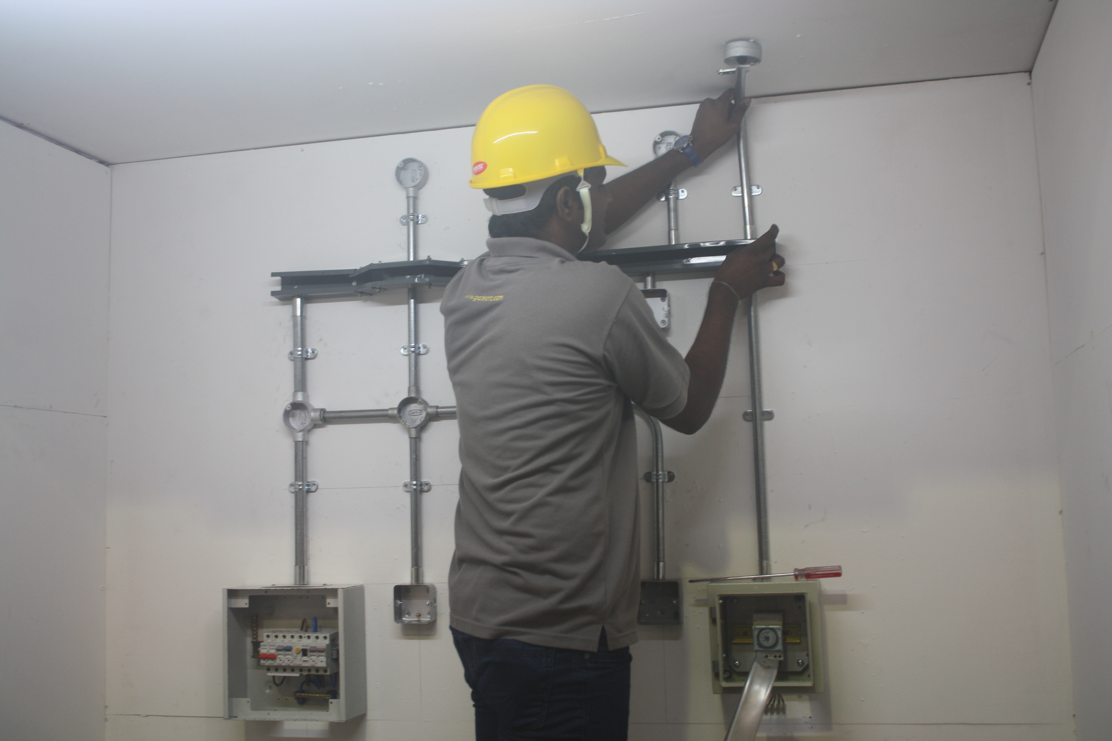 Electrical Wiring Installation Grace Engineering Of Conduit Pipe And Boxes