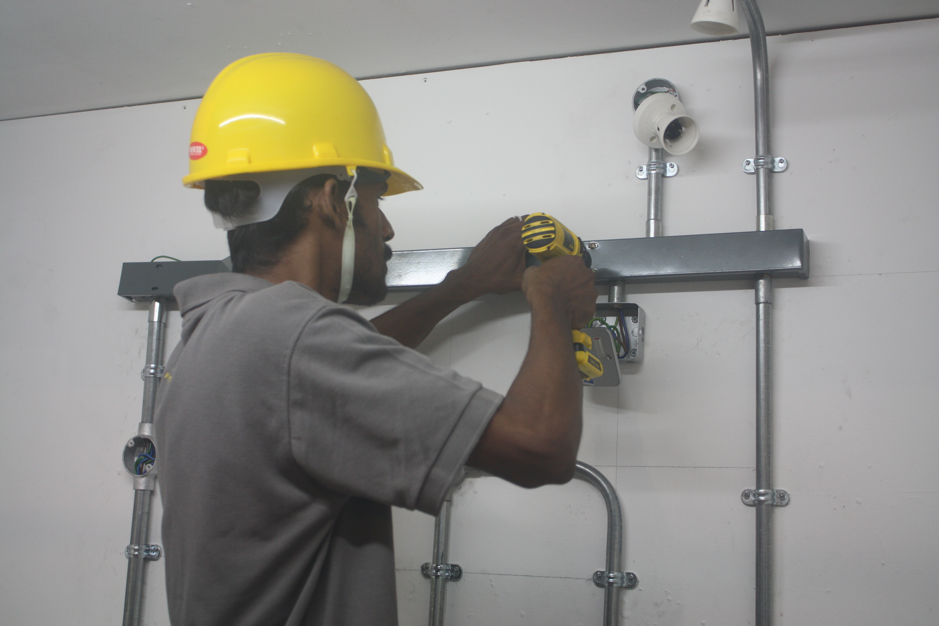 Electrical Wiring Installation - Grace Electrical Engineering on distribution board, wiring diagram, junction box, earthing system, circuit breaker, knob and tube wiring, electric motor, extension cord, electrical conduit, electrical engineering, ground and neutral, three-phase electric power, power cable, electric power transmission, home wiring, alternating current, national electrical code,