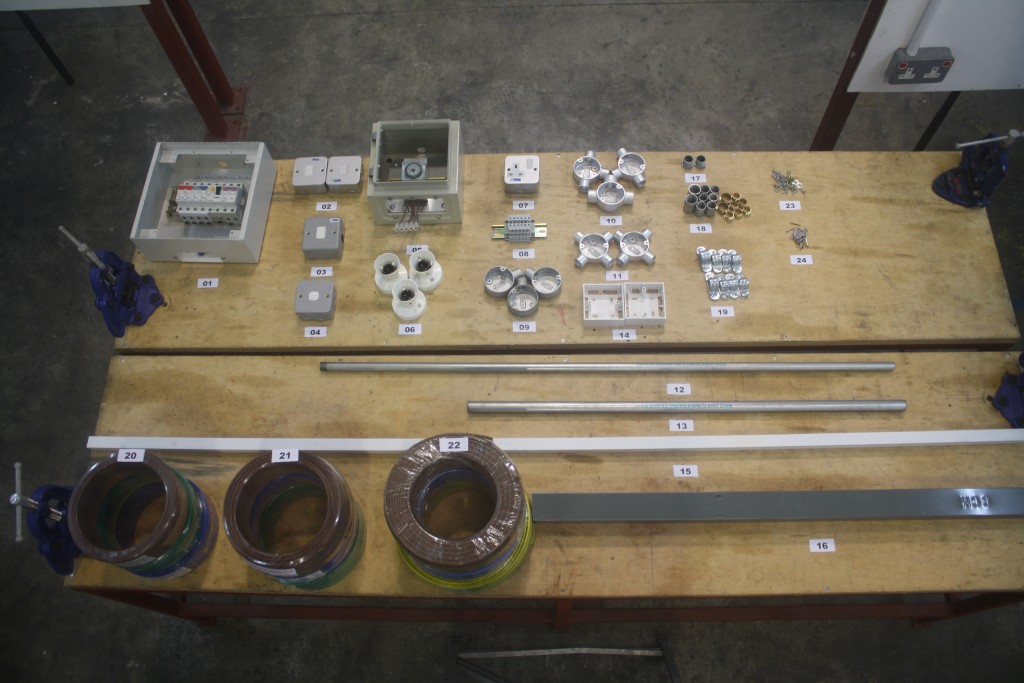 Electrical Wiring Installation Materials For Practical