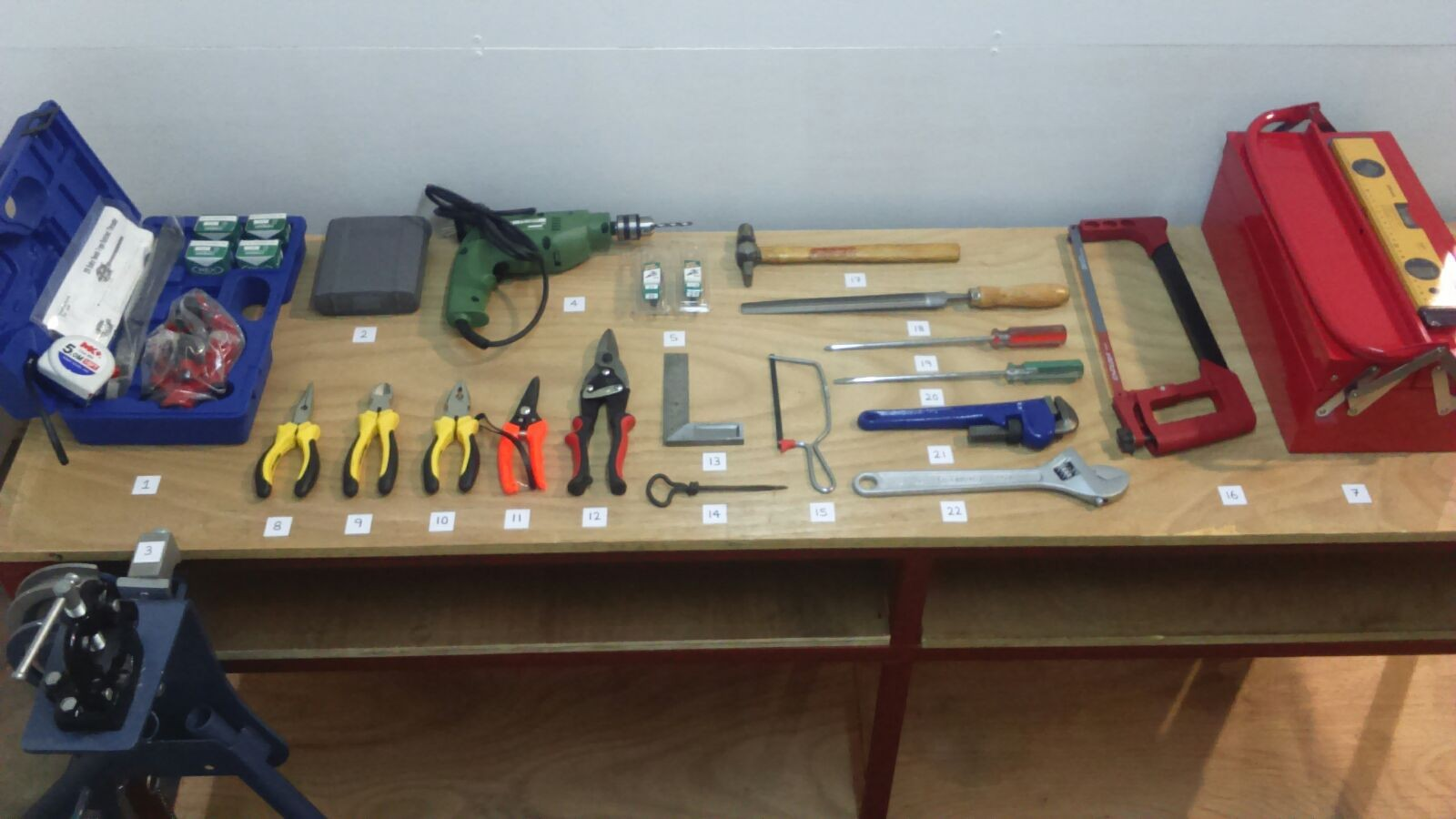 Electrical Wiring Installation Tools For Practical Lesson And Test