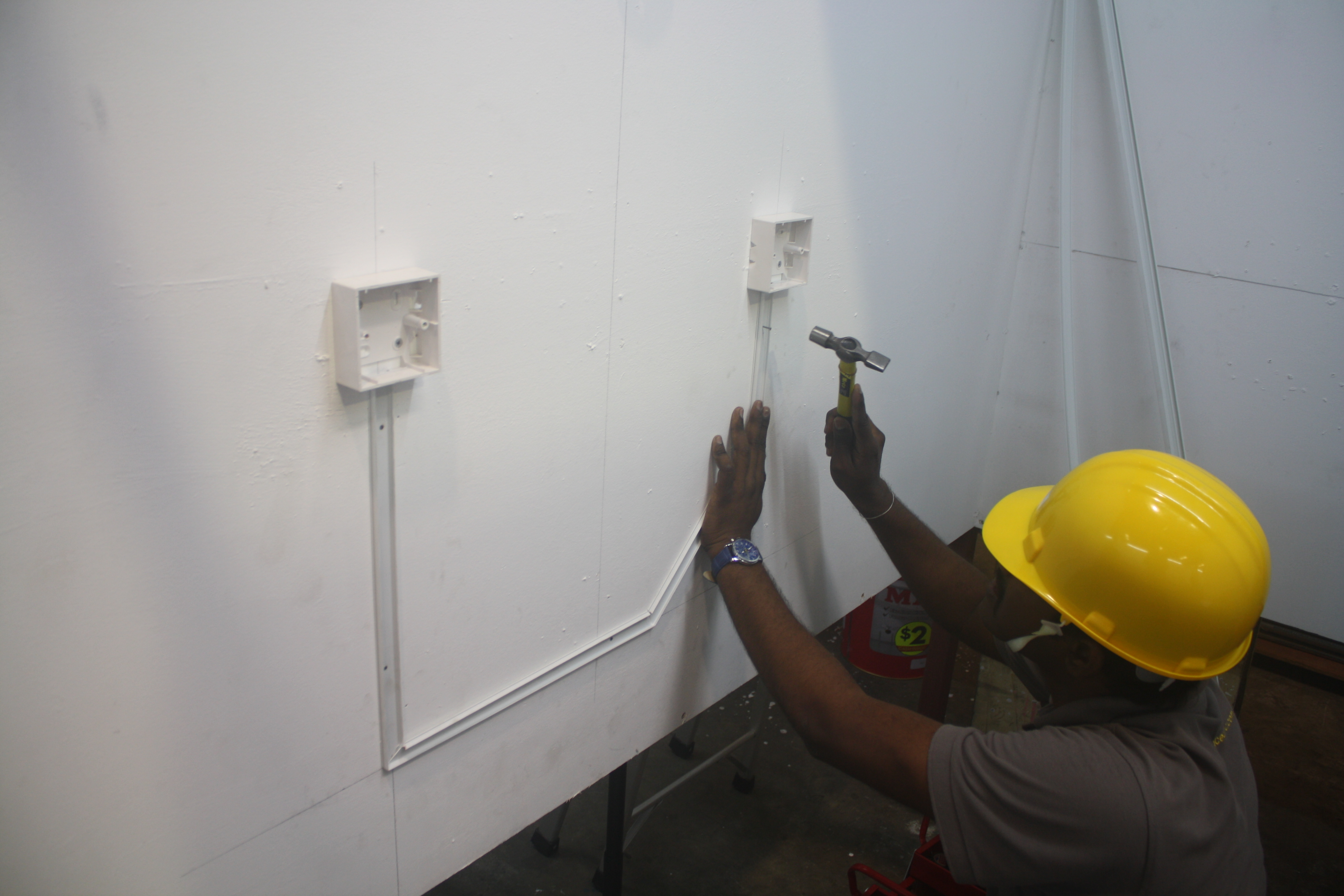 Electrical Wiring Installation Grace Engineering Of Pvc Trunking